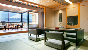 With foot bath  (SPA) Japanese-style room (Japanese-style room 19.87sq meter)