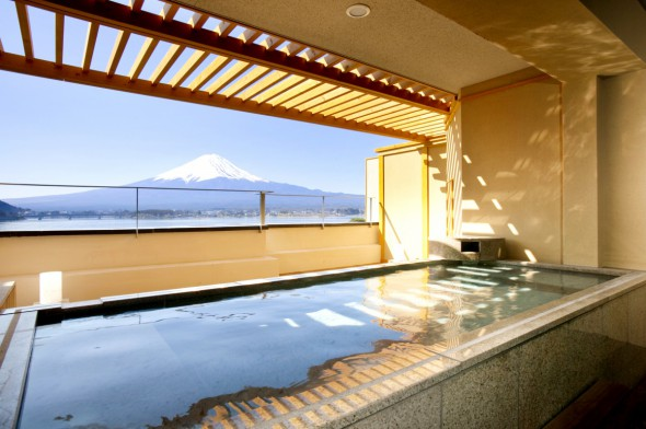 Spa Accommodation Of With Outdoor Bath Spa Guest Rooms