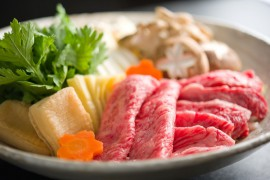 Discerning main dishes ◆Japanese beef sukiyaki hotpot ◆Japanese banquet dishes plan
