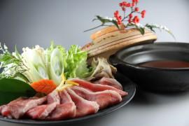 【冬限定】こだわりの特選◆ぼたん(イノシシ)鍋◆会席プラン