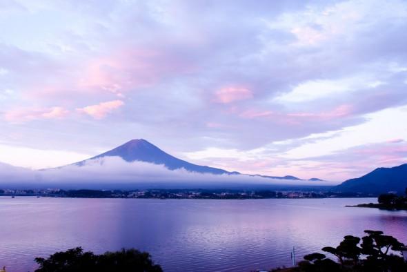 初見。富士山