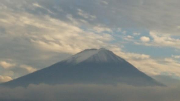 雲の上の富士