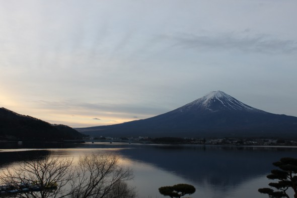 Fuji of the early morning