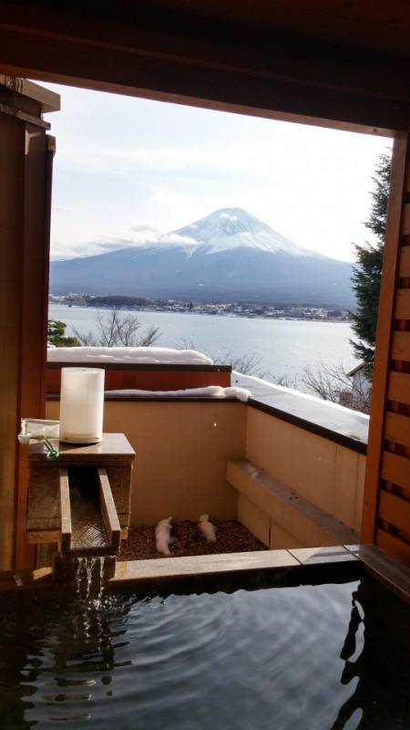 富士.温泉.雪