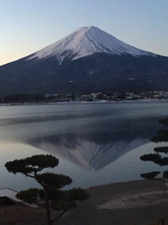 富士さんと富士山