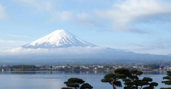 Fuji and Lake Kawaguchi