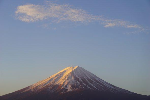 Good morning Mt. Fuji!