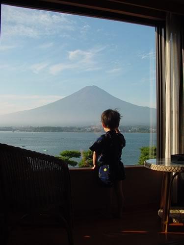 初めて見た富士山