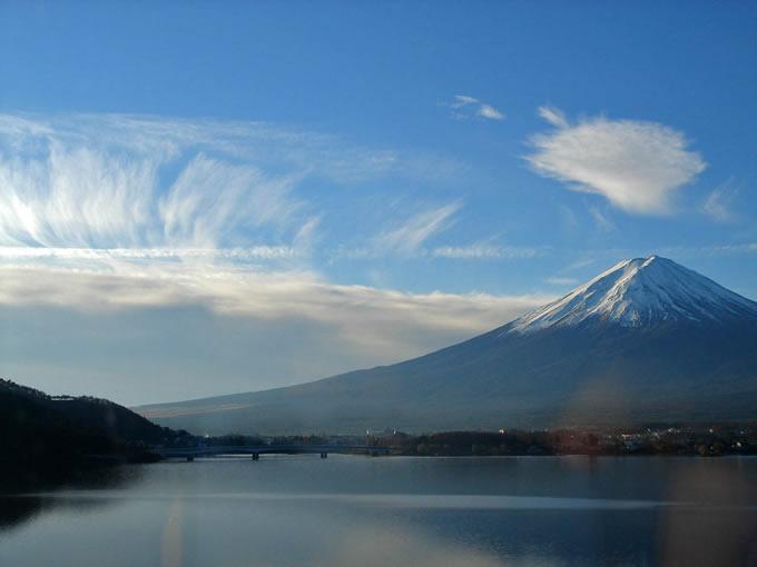 雲、富士に従う