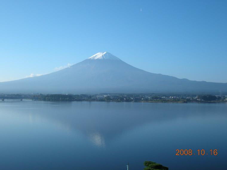 おはよう!富士山