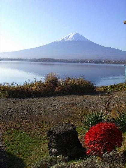 富士山の温かさ