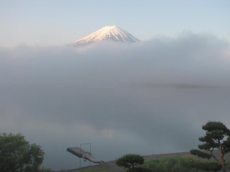 雲上の冨嶽