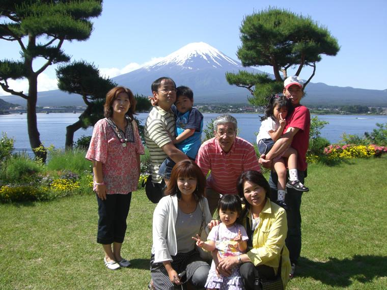 富士山と一緒に・・・