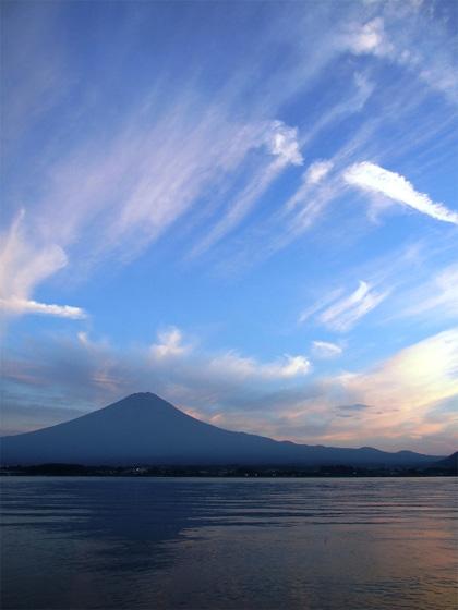 旧盆過ぎの富士