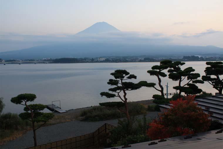 10月の富士
