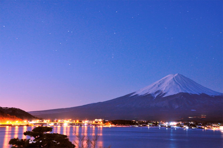 目覚めの富士