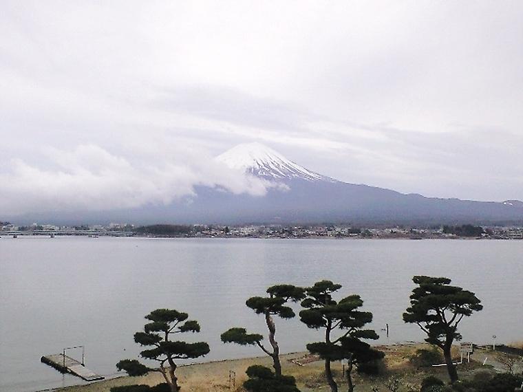 雨上りの富士