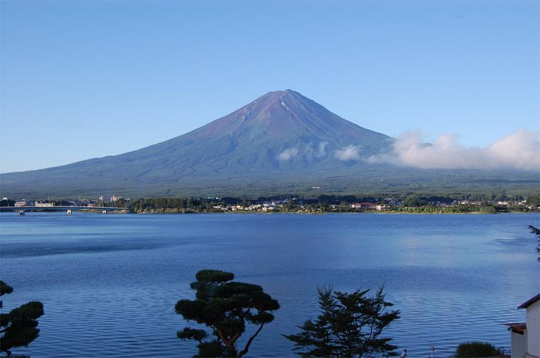 盛夏の富士山