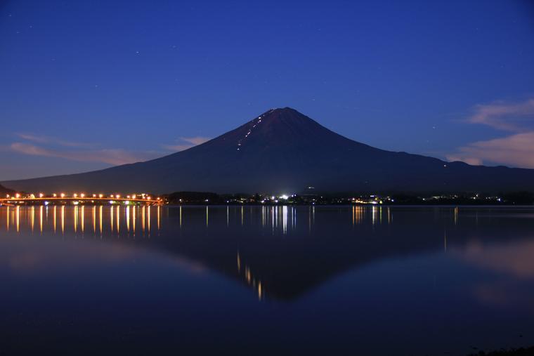 夏富士夜間登山