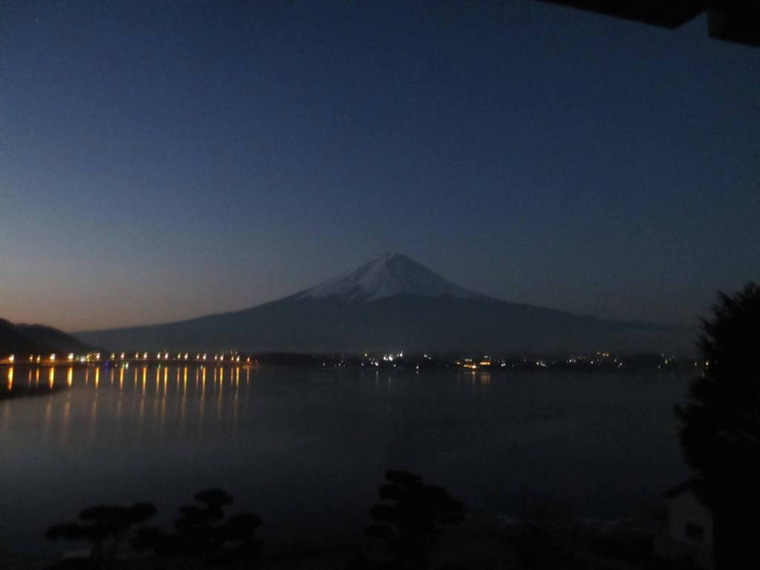 早朝のマウント富士!