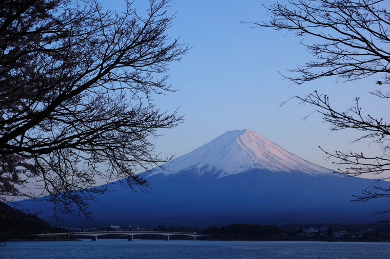 The Peaceful Fuji